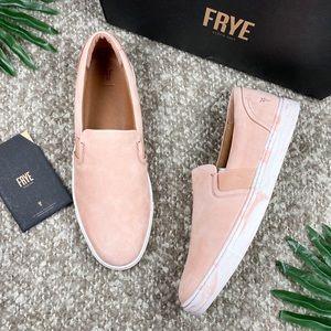 NIB Frye Ivy Slip On Fashion Sneakers Blush